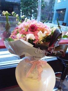 他の写真1: ビッグブーケ(花束)-ビッグブーケ〜季節のお花(Redバージョン)