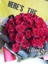 バラギフト -深紅のバラ30本 '' True Love ブーケ30 ''