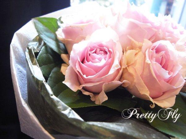 画像3: 【一種の花で束ねるシンプルブーケ】OnlyPinkRose〜ピンクのバラ花束