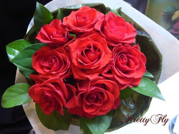 画像2: 【一種の花で束ねるシンプルブーケ】OnlyRedRose〜赤いバラ花束