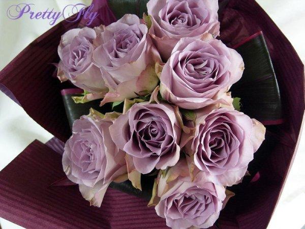 画像4: 【紫のバラ花束】パープルROSE '' PurpleROSE8 ''