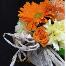 他の写真2: 【Forestシリーズ2015 花】アレンジメント【オレンジ】Sサイズ