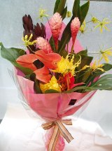 【花束】トロピカルハワイアン Tropical Flower Bouquet