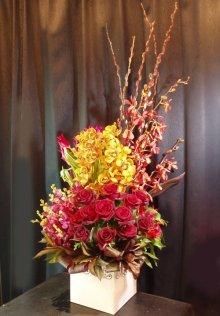 他の写真1: お祝いアレンジ-Orchid200