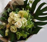 【ギフトブーケ】ブランHearts花束50〜結婚・出産お祝いに