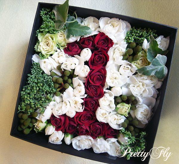ボックス アレンジメント 生花