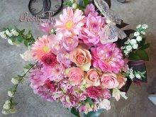 他の写真2: ビッグブーケ(花束)-バタフライビッグブーケ〜季節のお花(Pinkバージョン)