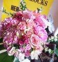画像3: ビッグブーケ(花束)-バタフライビッグブーケ〜季節のお花(Pinkバージョン) (3)