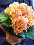 画像4: 【一種の花で束ねるシンプルブーケ】OnlyOrangeRose〜バラ オレンジの花束 (4)