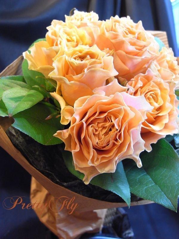 画像4: 【一種の花で束ねるシンプルブーケ】OnlyOrangeRose〜バラ オレンジの花束