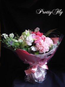 他の写真2: ブーケタイプ花束-ヒオリピンク60