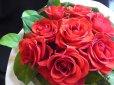 画像3: 【一種の花で束ねるシンプルブーケ】OnlyRedRose〜赤いバラ花束 (3)