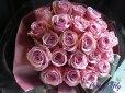 画像1: バラのプレゼント -紫色のバラ30本 '' PurpleROSE30 '' (1)