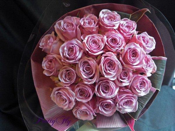 画像3: バラのプレゼント -紫色のバラ30本 '' PurpleROSE30 ''