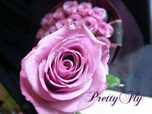 他の写真1: バラのプレゼント -紫色のバラ30本 '' PurpleROSE30 ''