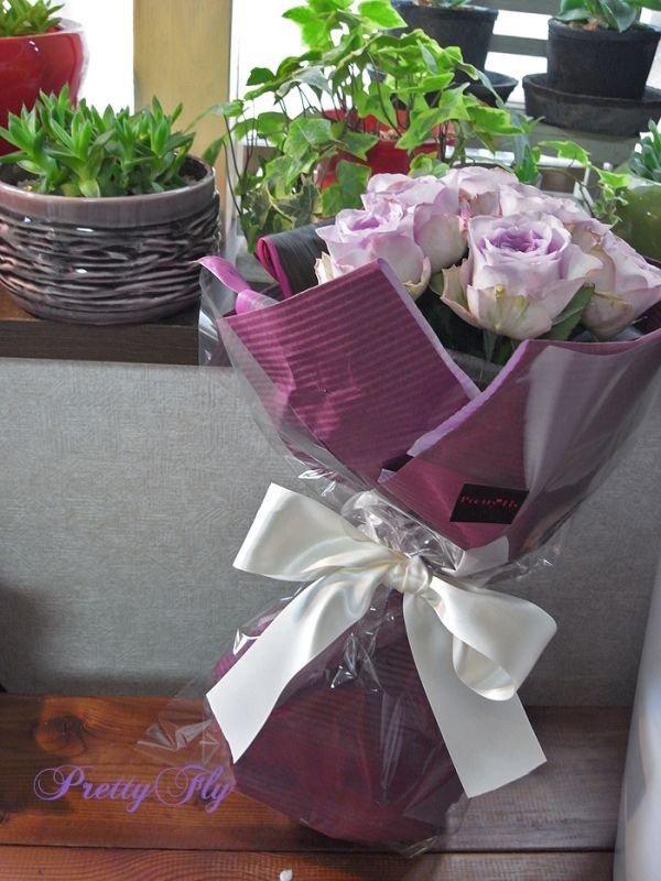 画像3: 【紫のバラ花束】パープルROSE '' PurpleROSE8 ''