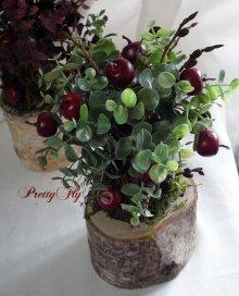 他の写真2: 【ドライフラワー&造花】リンゴの木(グリーンリーフ)