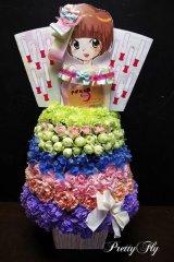 イベント用オーダー楽屋花〜ドレス型アレンジメント