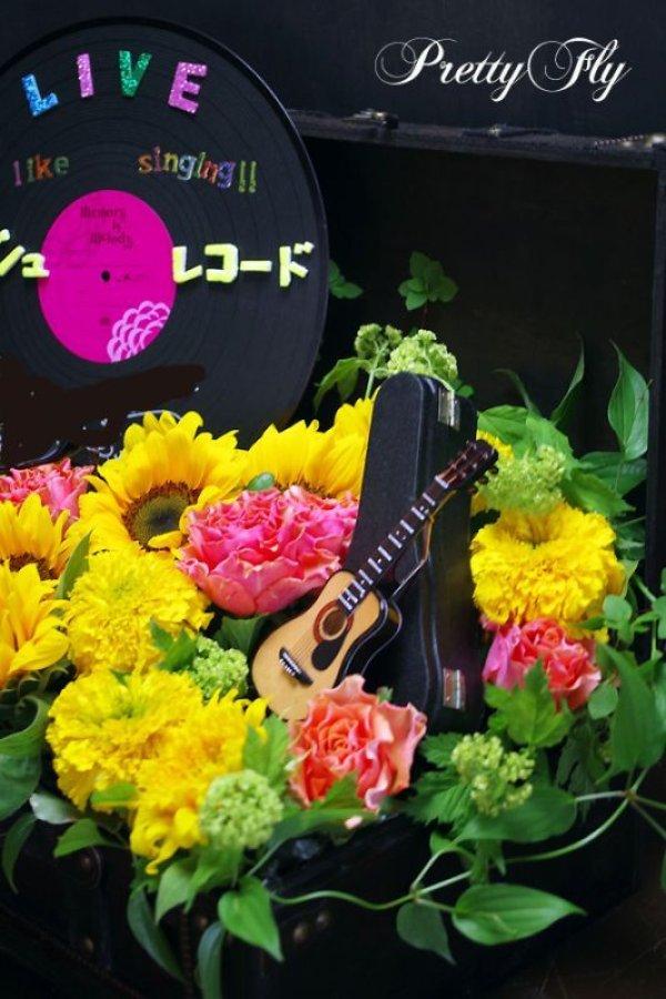 画像3: イベント用オーダー楽屋花〜カバンにひまわりアレンジ