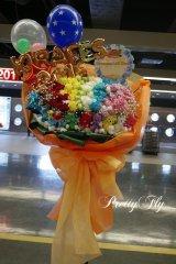 オーダーメイド★バラの花束風スタンド花