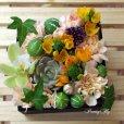 画像2: 【ボックスフラワーSサイズ】-Succulent多肉&Flower花 オレンジ (2)