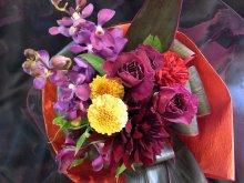 他の写真1: ブーケタイプ花束-アメジスト40