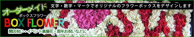 ボックスフラワー特注オーダーメイド★楽屋花、周年記念、開店祝い、イベント向け